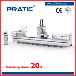 Profil d'alumium CNC Machinerie de traitement pour la mouture taraudage de perçage