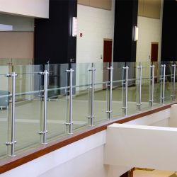 سلالم/منصة/ممشى/شرفة زجاجية من الفولاذ المقاوم للصدأ مزودة بمنصة تحميل
