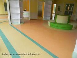 Moquette tessuta del PVC Flooringroll della spugna della pavimentazione del vinile