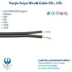 10 AWG 12AWG 14AWG 18 AWG alambre doble plano flexible SPT-1 y SPT-2 Cable de electricidad para cable de luz
