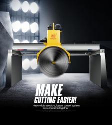 China multidisco de puente de máquina de cortar el bloque de granito, mármol, piedra caliza de maquinaria de corte