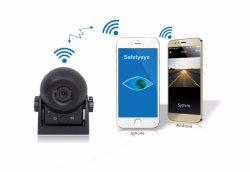 Het Beeld van de Mening van de Camera van de Auto van WiFi op Mobiele Telefoon