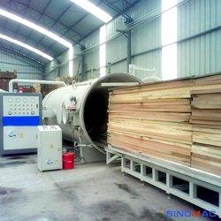 Navire de la transformation du bois industriel avec une haute sécurité et de bonnes performances