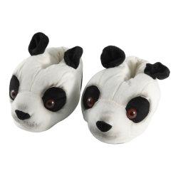 Kongfu Panda のプラシ天の家スリッパの反スリップの屋内冬の家のスリッパ