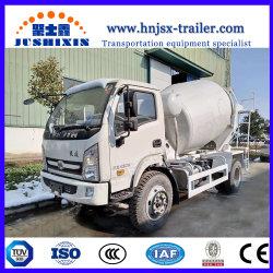 Marque Jsx auto chargement camion bétonnière mobile pour la vente