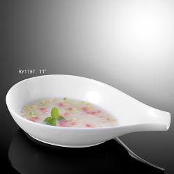 Новый отель прибыли/Ресторан используются пластины глубокую чашу для супа суп на лодке форма чаши
