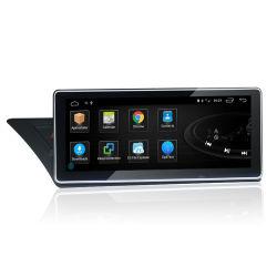 4G LTE 8のコア車のDVDプレイヤーIPS Audi A4l 2004-2008 A4/A5 2004-2016年のための青い光線スクリーンのアンドロイド10.0のBluetooth無線GPS