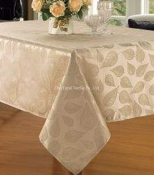 La mode Simple Table JACQUARD Tissu de polyester rectangulaire