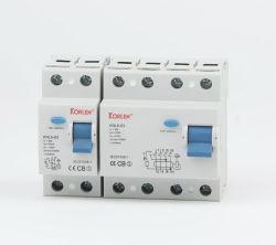 Высокое качество прерыватель цепи остаточного тока Knl RCCB6-63 (F7) с серебристыми контакт 10Ка