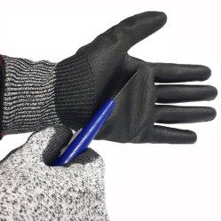 guanti Tagliare-Resistenti di sicurezza 13G con l'unità di elaborazione ricoperta contro i rischi meccanici