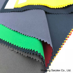 75D*150D 100 % polyester Tissu à armure sergé Micro Peach avec Plain teints