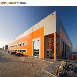 Struttura d'acciaio per la costruzione chiara prefabbricata poco costosa del capannone/magazzino/workshop di /Prefab/Aircraft