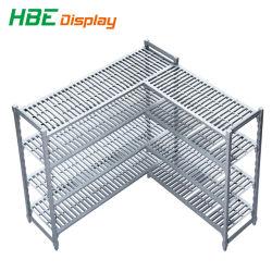 Supermarkt-Kühlraum-Lagerregale Aus Hochbelastbaren Kunststoff-Kühlraum