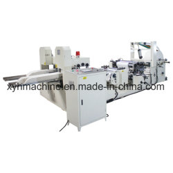 Serviette-Maschinen-automatisches Farben-Drucken-Serviette-Serviette-Seidenpapier, das Machinery1/4, 1/6, 1/8 automatische gedruckte und geprägte Tisch-Serviette bildend sich faltet