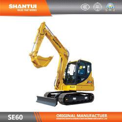 Shantui Se60 Гидравлический экскаватор с 36квт/2000об/мин, данный двигатель соответствует Китай-III регулирования выбросов