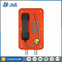 Jrex103 Indústria pesada de telefone de emergência à prova de explosão