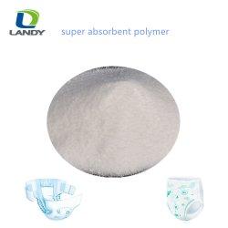 Venta caliente Super Sap de Polímeros absorbentes para pañales para adultos de absorción de líquido de retener el agua con precios de fábrica