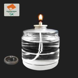 최신 판매 크리스마스 선물 플라스틱 병 액체 초는 촛불 저녁식사 훈장을%s 놓았다