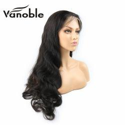베스트셀러 100% 인간 Virgin 머리 페루 레이스 정면 가발 또는 가득 차있는 레이스 가발