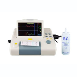 Attrezzature mediche fetali del video del cuore dello schermo a colori dell'ospedale (SLV-F800G)