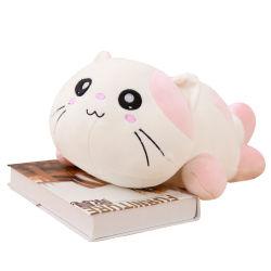 Мягкие плюшевые игрушки Cute лежа шикарные Cat с улыбающееся лицо влюбленных подарки