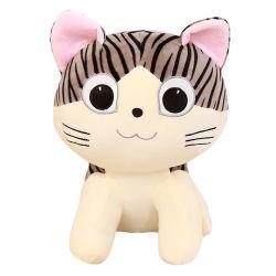 Werksgesundheitswesen-nette Entwurfs-Plüsch-Katze-reizendes weiches Material-Katze-Spielzeug für Kinder