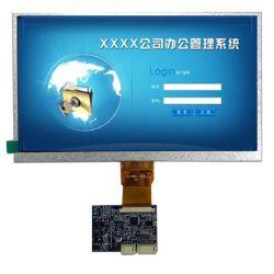 7 polegadas LCD Módulo com placa de controlador, suportar tanto o sistema PAL e NTSC, usado para Interfone