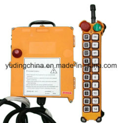 Hy Crane Wire Rope Heavy Duty treuil de levage de matériel de construction Télécommande sans fil F21-20D