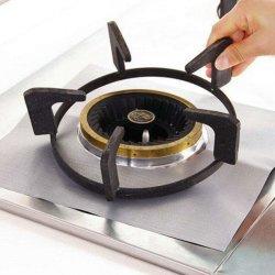 Óleo de PTFE prova fogão reutilizáveis Protector Gáz Tampas do queimador