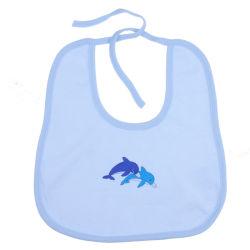 最も新しいデザインによって刺繍されるニットパターン赤ん坊の幼児の胸当て