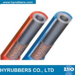 Doble goma flexible de soldadura de tubo de oxígeno //la manguera de acetileno