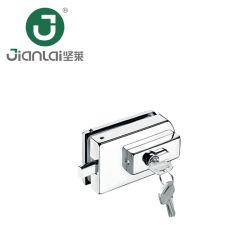 Commerce de gros carrés de verre en acier inoxydable de clé de verrouillage du raccord de patch