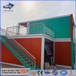 Heißer Verkaufs-preiswerterer flacher Verpackungs-lebender Fertigbehälter-kleines Haus für Arbeits/Hotel/Office/Workers-Anpassung/Wohnung mit der Cer-Zustimmung hergestellt in China