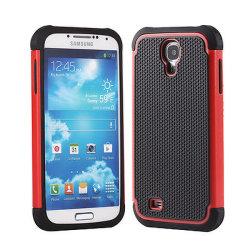 Couvercle de boîtier dur hybride Combo pour Samsung Galaxy S4 I9500