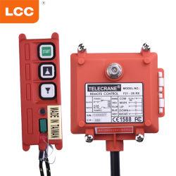 Drahtloser Kran-Übermittler und Empfänger-industrielles Fernsteuerungssystem für elektrische Hebevorrichtungen