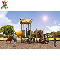 كوخ سلسلة Kindergarten ألعاب داخلية ألعاب ترفيه خارجية حديقة أطفال بلاستيك Slide Children Toys ملعب للأطفال معدات للبيع