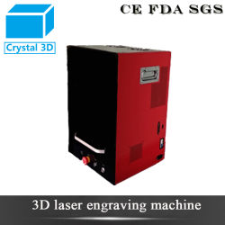 Crystal Glass 플렉시 유리 레이저 큐브를 위한 2D 3D 레이저 Engraver 3D 레이저 포장 기계 가격