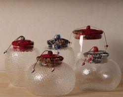 Un style chinois Glass Jar de stockage de haute qualité et prix Pormotion