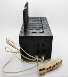 8 portas GPRS GSM modem Pool, modem sem fio USB / RS232 interface suporte SMS em massa