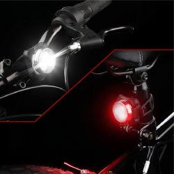 Mini portátil Battery-Free LED à prova de vida Smart indução magnética Vermelho Luz de Bicicletas