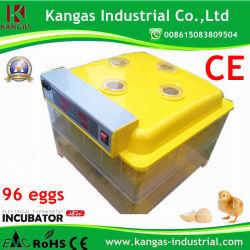96 بيضة كاملة تلقائية البيض آلة تفقيس