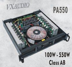 2*550W Classe AB Nice Price et son poids léger (amplificateur de puissance PA-550)