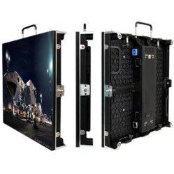 500X500 LEDのキャビネットの高リゾリューションの屋内レンタル可動装置LEDのビデオ壁スクリーンP3.91前部サービス表示