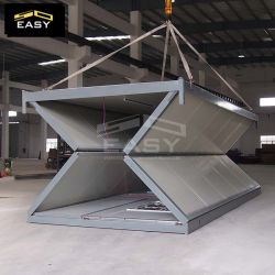 20FT 저가 모듈 조립식 가옥 Prefabricated 출하 사치품 사는 현대 편평한 팩 팽창할 수 있는 접히는 콘테이너 집