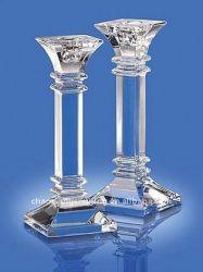 De Kandelaar van de Kaarsenhouder van het Kristal van de Gift van het huwelijk (KS27012)