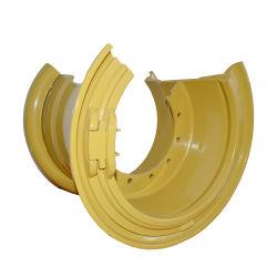 RAD-Felgen-Reifen-Größe 53.00-63 der Katze-Vol. Kom große Stahl63 Typ schlauchlose 63-36.00/5.0 Stahl-OTR Rad-Felge des Zoll-5PC