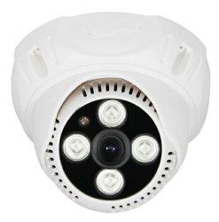 حساس سوني 1200tvl HD كاميرا تناظرية بدقة 50m مراقبة بيضاء مقاس 1/3 بوصة ضوء LED لمصفوفة كاميرات السقف CCTV مع قائمة خيارات العرض على الشاشة