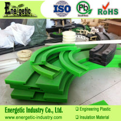 Kunststoff-Magnetstreifen, UHMWPE Magnetism-Streifen, bearbeitete Kunststoffteile, CNC-Kunststoff-Bearbeitung, Fräsen von Kunststoff-Material