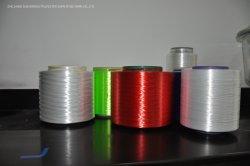 Faible rétrécissement filés de polyester