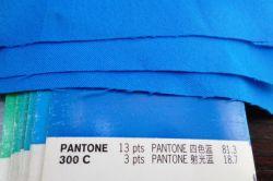 Haute densité de tissu de polyester Full-Dull pongés